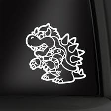 Bowser 8 Vinyl Decal Koopa King Sticker New Multiple Colors Aval Super Mario Ebay