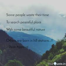 best hillstation quotes status shayari poetry thoughts