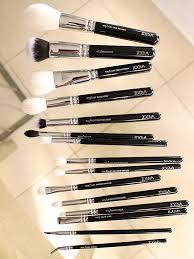 zoeva makeup artist brush set review