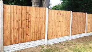 Carls Fence Nj Concrete Fence Posts And Gravel Boards