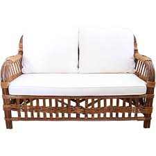 baltimore 2 seat outdoor cane settee w