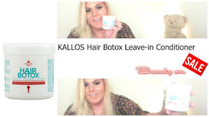 hair botox leave in conditioner