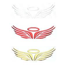 Angel Wing Sticker Stickers Wings For Helmets Sutanrajaamurang