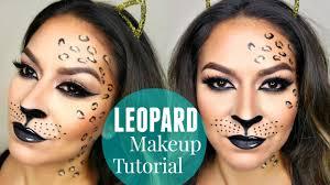 y leopard cheetah makeup tutorial