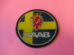 Enamel Chrome Swedish Flag Saab Car Badge Sweden 95 93 Aero 900 Archives Midweek Com
