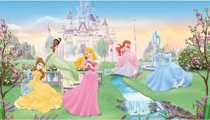 Disney Dancing Princesses Large Prepasted Accent Wall Mural