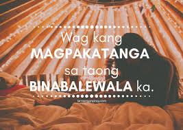 hugot love quotes tagalog pinoy lambingan tambayan online pinoy