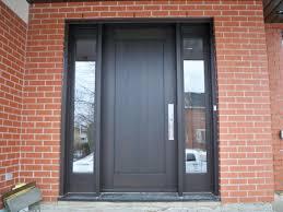contemporary front door side panels
