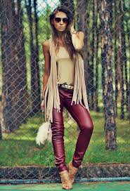 17 cute outfits with leather pants for