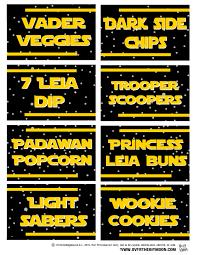 13 Recursos Para Una Fiesta Star Wars Mi Nino Grande Cumple 10
