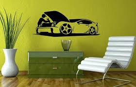 Wall Decals For Auto Car Repair Shop Decal Vinyl By Vinyldecals2u Interiorofcell Auto Repair Auto Repair Shop Home Decor