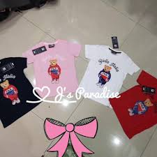 fila bear t shirt for kids to s