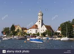 View at water castle,Lake of Constance,west Stock Photo - Alamy