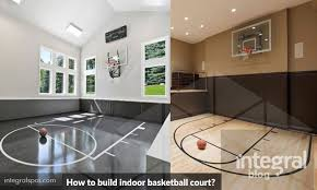 build indoor basketball court for gym