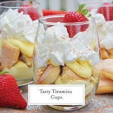 tiramisu cups an easy homemade