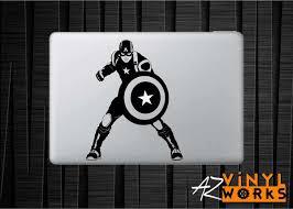 Captain America Stance Vinyl Decal For Mac Azvinylworks