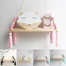 2020 Wall Hanging Decor Swing Shelf Decorative Shelves Room Storage Organization Personality Kids Room Wooden Beads Tassel From Cnet 12 18 Dhgate Com