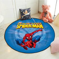 Disney Cartoon Avengers Spiderman Mat Lightning Mcqueen Kids Boys Girls Game Carpet Bedroom Living Room Rug Indoor Mat Rug Aliexpress