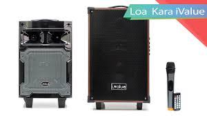 Loa Bluetooth Karaoke i.value 6.5inch và 10inch Gỗ - YouTube