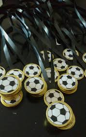 Medalha Chocolate Cumpleanos Tematico De Futbol Decoracion