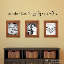 And They Lived Happily Ever After Decal Gallery Wall Decor Etsy
