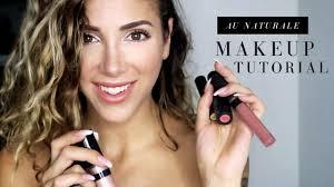 au naturale cosmetics tutorial