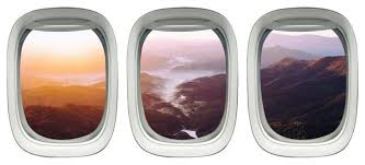 Vwaq Landscape Wall Stickers Airplane Window Decals Kids Room Decor Vwaq Ppw7 Contemporary Wall Decals By Vwaq Vinyl Wall Art Quotes And Prints