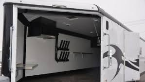 enclosed snowmobile trailers
