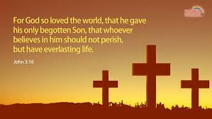 john for god so loved the world bible quote