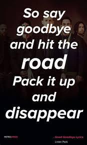 goodbye quotes lyrics