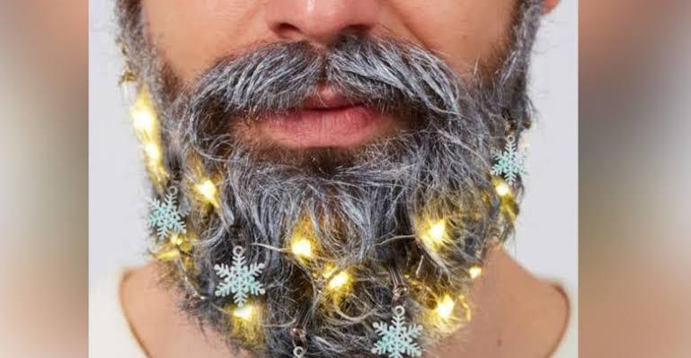 """Resultado de imagen para tendencia barba navideña"""""""
