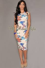 hot miami styles floral midi (With images) | Miami dresses, Night ...