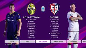 Pronostico Hellas Verona vs Cagliari Serie A 2019 2020 con PES ...