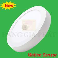 Đèn LED Panel Motion Sensor tròn nổi 12W | MPE