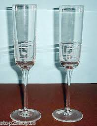 lenox westerly crystal champagne flutes