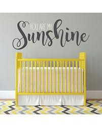 Savings On Nursery Wall Decor You Are My Sunshine Vinyl Decal For Children S Bedroom Playroom Or Study Room