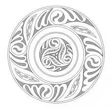 Keltische Mandala 5 Kleurplaat Gratis Kleurplaten Printen
