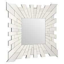 metro lane elena square accent mirror