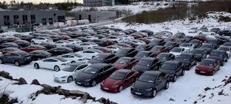 Tesla delivers massive fleet to rental car company Avis - Electrek