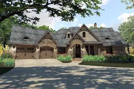 house plan 75144 tuscan style with