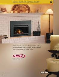 medina direct vent gas fireplace insert