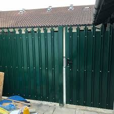 China Paint Color High Security And Assault Resistance Metal Palisade Fence Photos Pictures Made In China Com
