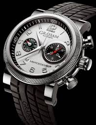 Graham Mercedes GP Trackmaster & Silverstone Chronograph Watches    aBlogtoWatch