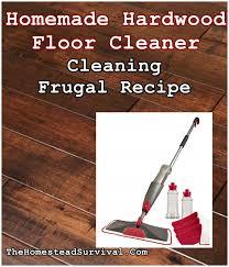 hardwood floor cleaner cleaning frugal