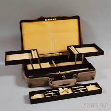 cartier ed leather jewelry box