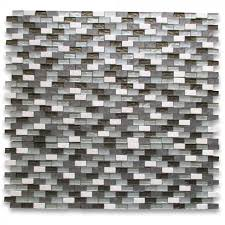beige travertine 1x2 brick mosaic tile