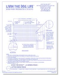 Gyms For Dogs Ls Series Fence Garden Style Dog Park Fence 4 Black Framed Fence With Post And Hardware Caddetails