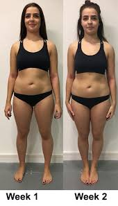weight loss transformation diaries week
