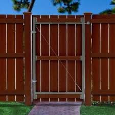 Adjust A Gate Original Series Metal Gate In 2020 Adjust A Gate Garden Fence Panels Building A Fence