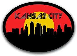 Amazon Com Kansas City Missouri Vinyl Decal Sticker Cars Trucks Vans Suvs Windows Walls Cups Laptops Full Color Printed 5 5 Inch Kcd2560 Automotive